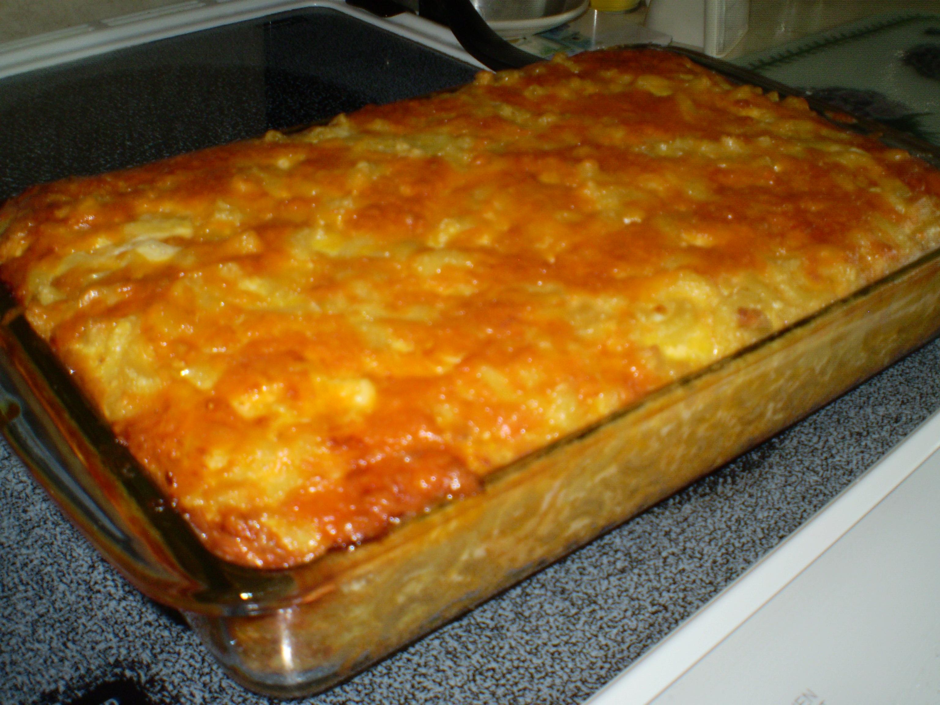 Charleston Macaroni Pie | Singing about Cooking