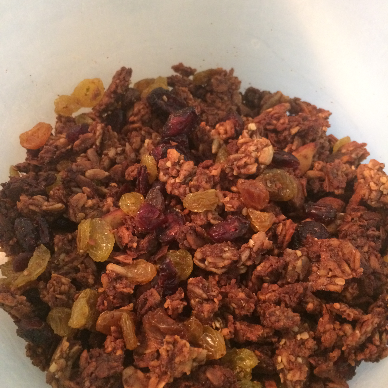Basic Healthy Granola Recipe — Dishmaps