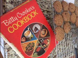 Betty Crocker's Cookbook and Oatmeal Raisin Cookies